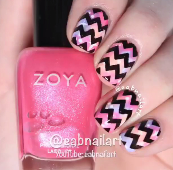 Inšpirácia: Skrášlite svoje nechty geometrickými tvarmi a vzormi